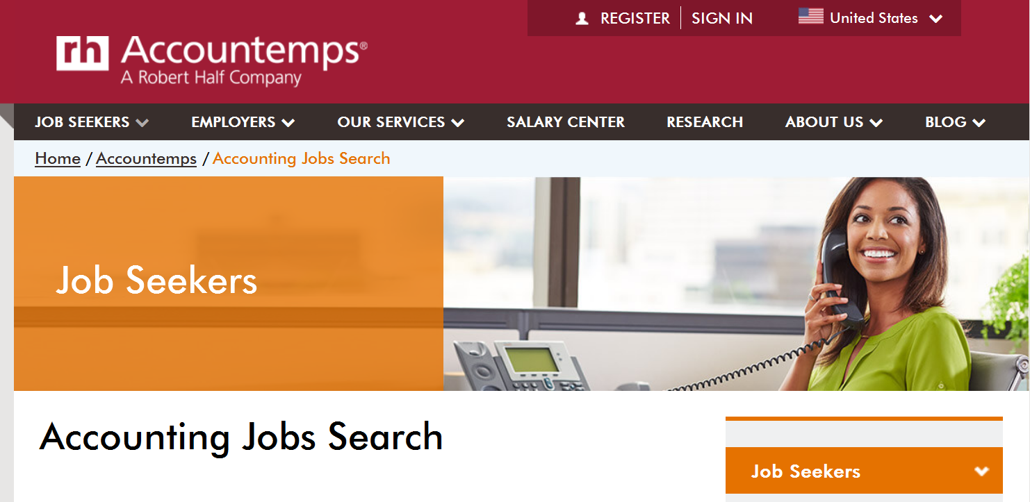 Accountemps Accounting Staffing Agency Accounting Jobs Company Job Staffing Agency