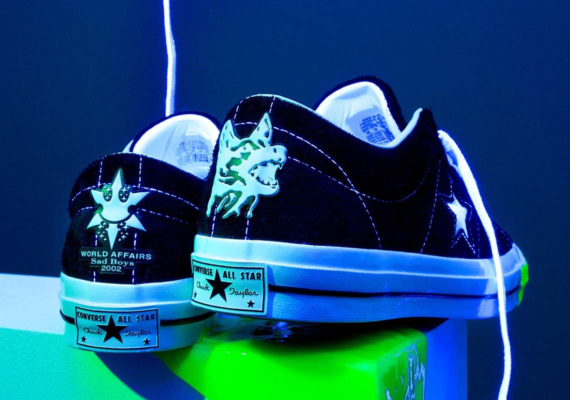wyprzedaż najwyższa jakość sklep internetowy Converse And Yung Lean Collaborate On A One Star | Converse ...