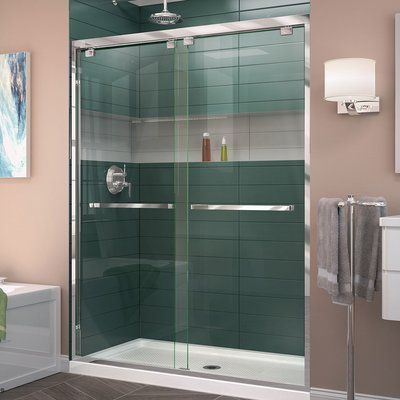 Dreamline Encore 76 X 60 Bypass Semi Frameless Shower Door With