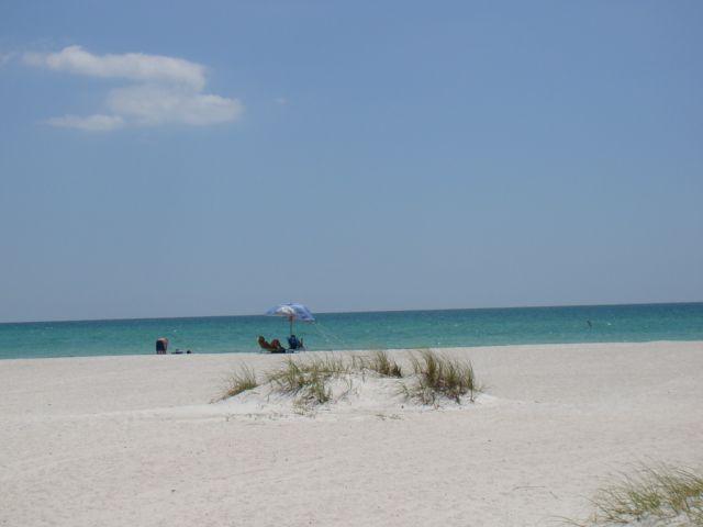 Coquina Beach On Anna Maria Island Florida