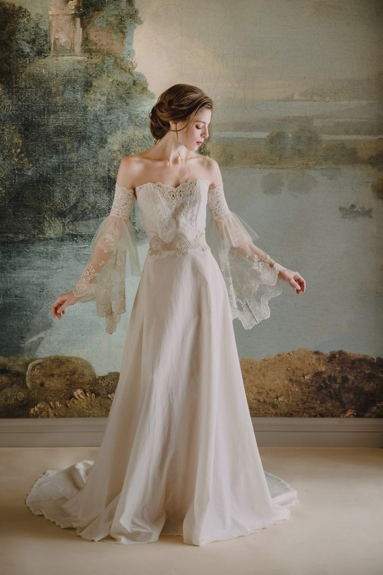Photo of Claire Pettibone's New Timeless Bridal Gown Collection – Chic Vintage Brides