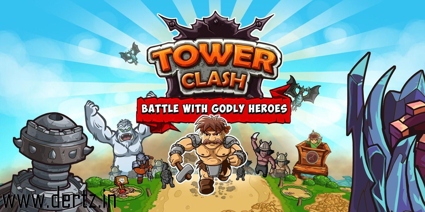 Download Tower clash TD full version from Dertz without