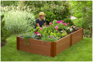 Online Garden Design DIY Guide: Timber Raised Garden Bed