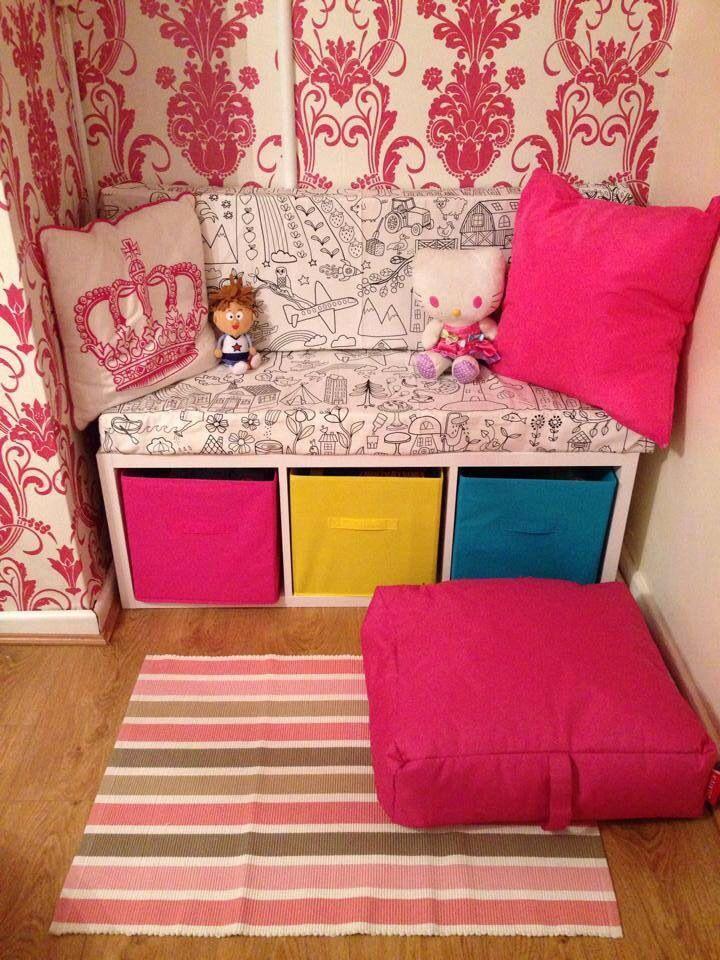 Storage seat shelves from Bu0026Q IKEA