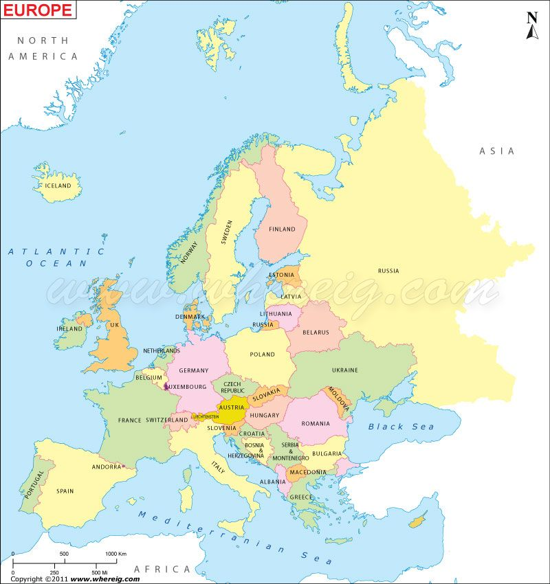 europe map Maps Pinterest