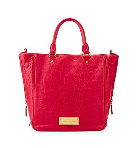 Marc by Marc Jacobs Washed Up Leather Tote, Raspberries Marc by Marc Jacobs http://www.amazon.com/dp/B00G9T6HIK/ref=cm_sw_r_pi_dp_npgQub1A73EPR