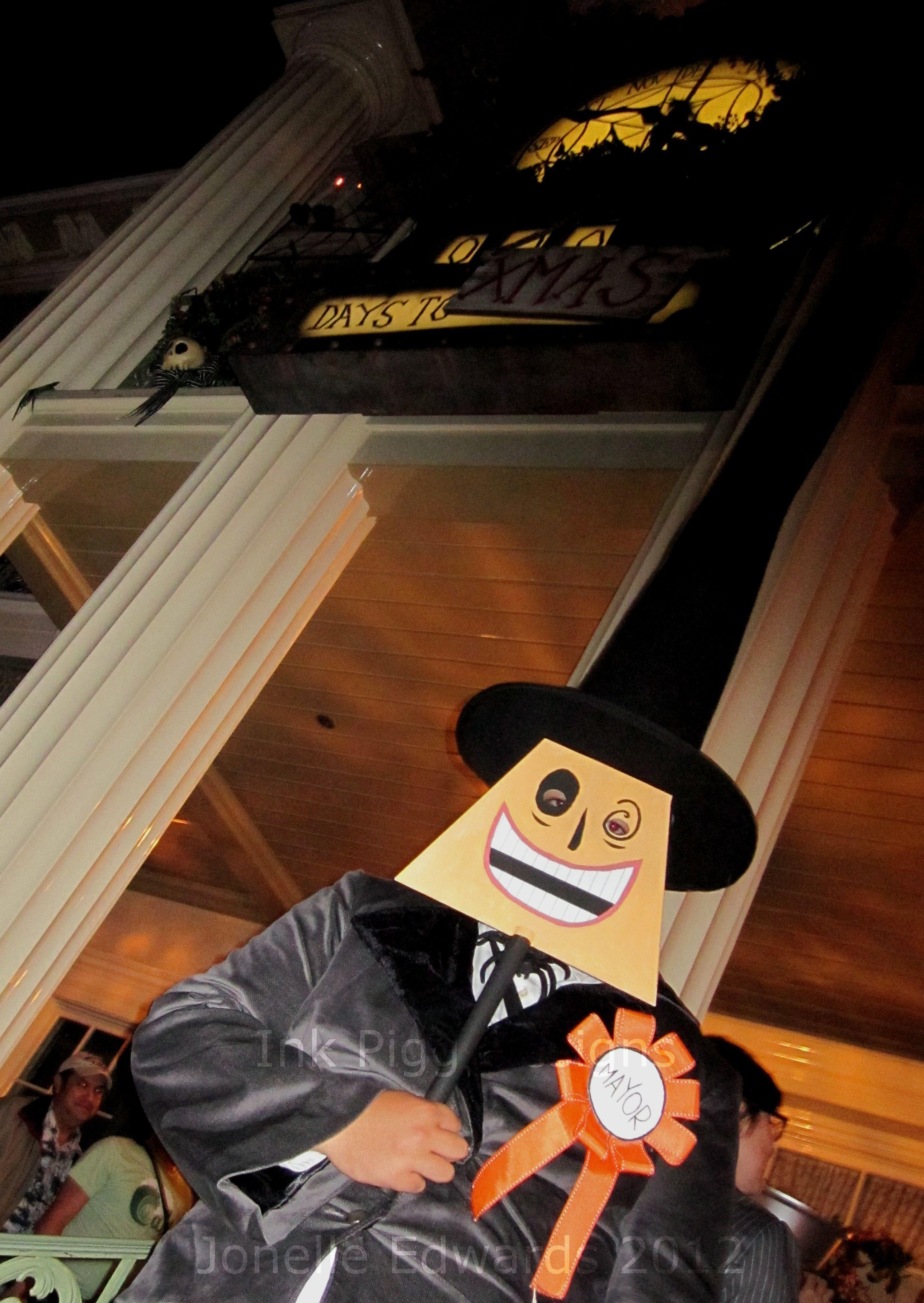 My brother's Halloween costume- Mayor of Halloween Town (Nightmare ...