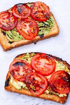 Photo of Toast mit Tomaten und Avocado mit Balsamico-Sirup #avocado #avocadotoast # …