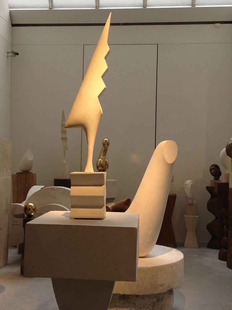 Brancusi Studio  outside the Pompidou Museum, Paris