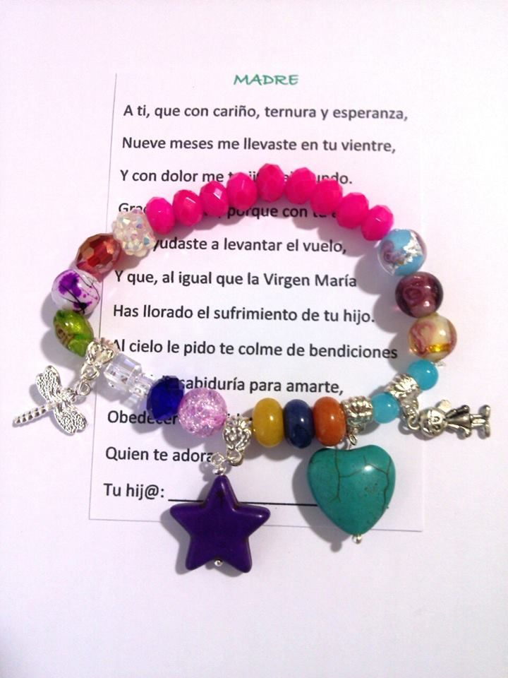 5542a6671e74 PULSERA DE LAS MADRES