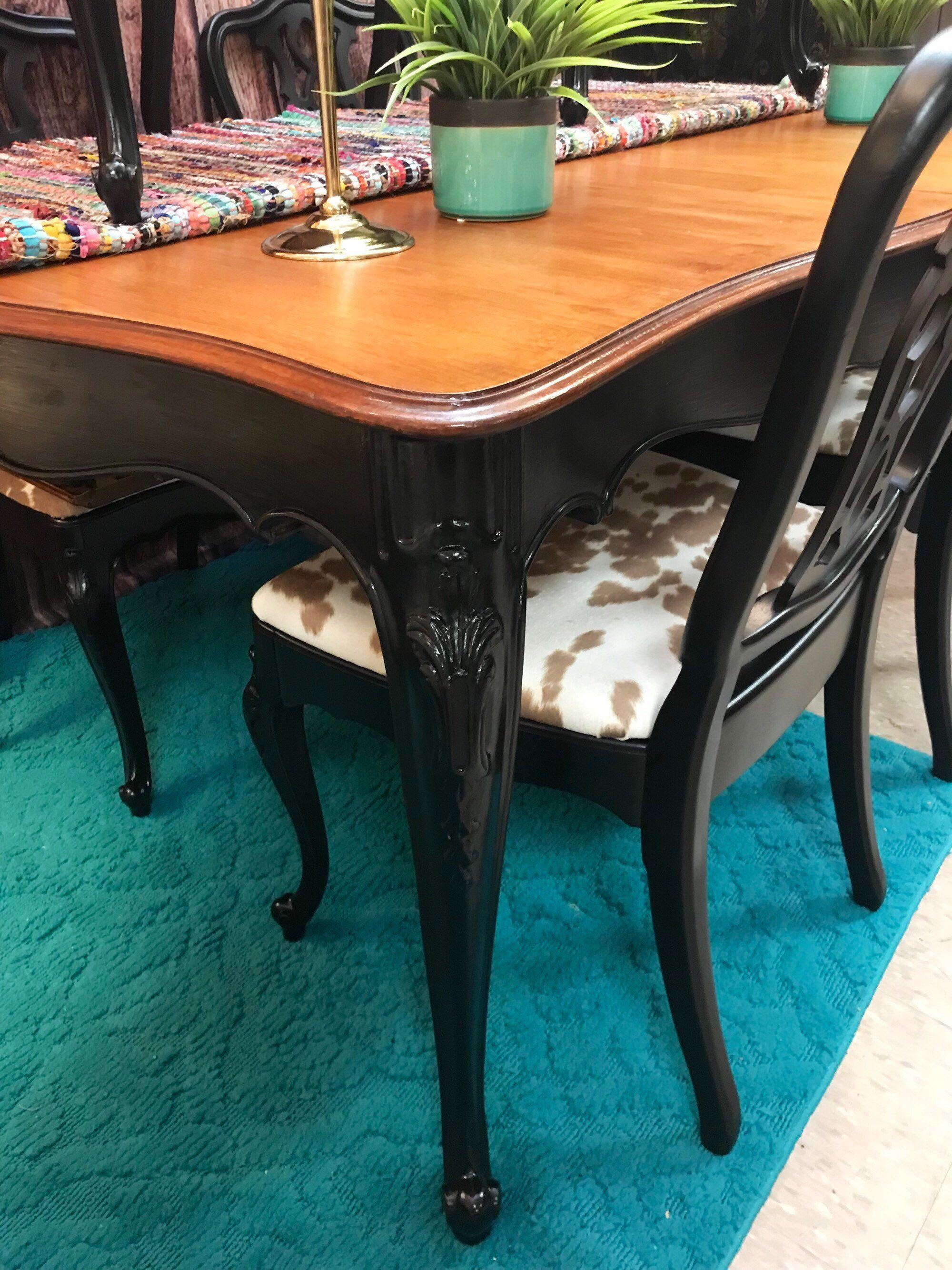French Provincial Dining Table Farmhouse Table And Chairs French