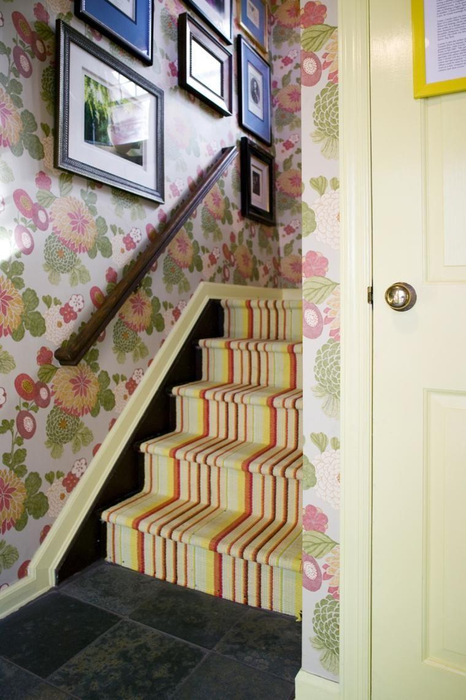 Innentreppen 74 farbenfrohe Designs | Haus