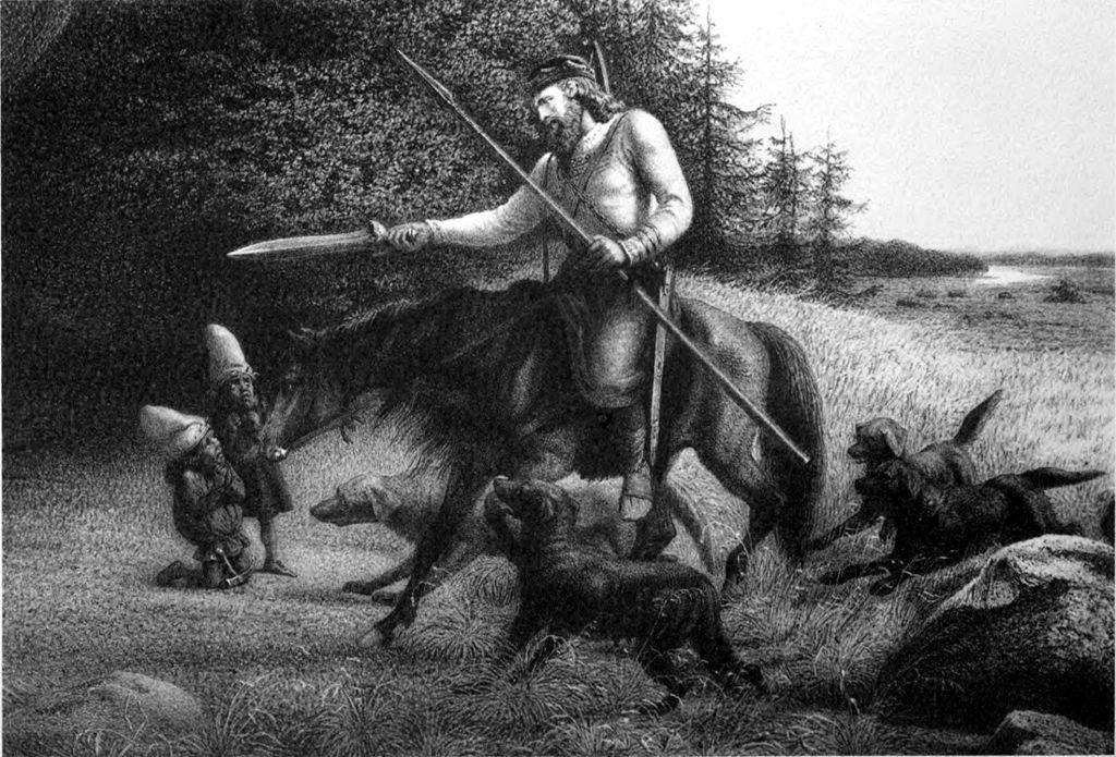 King Svarflami gains Tyrfing