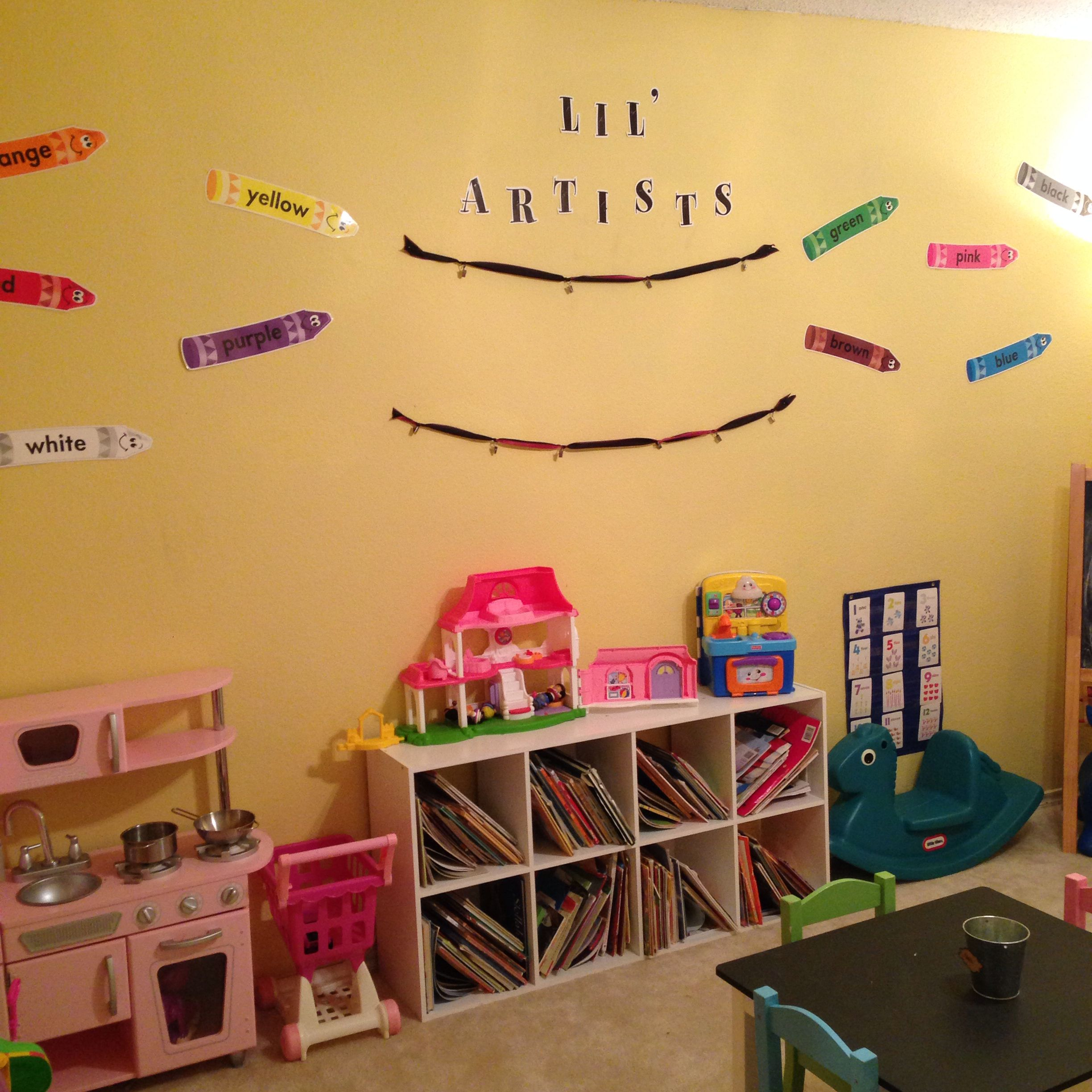 Amazing Kindergarten Wall Decoration Ideas Frieze - Gallery Wall Art ...