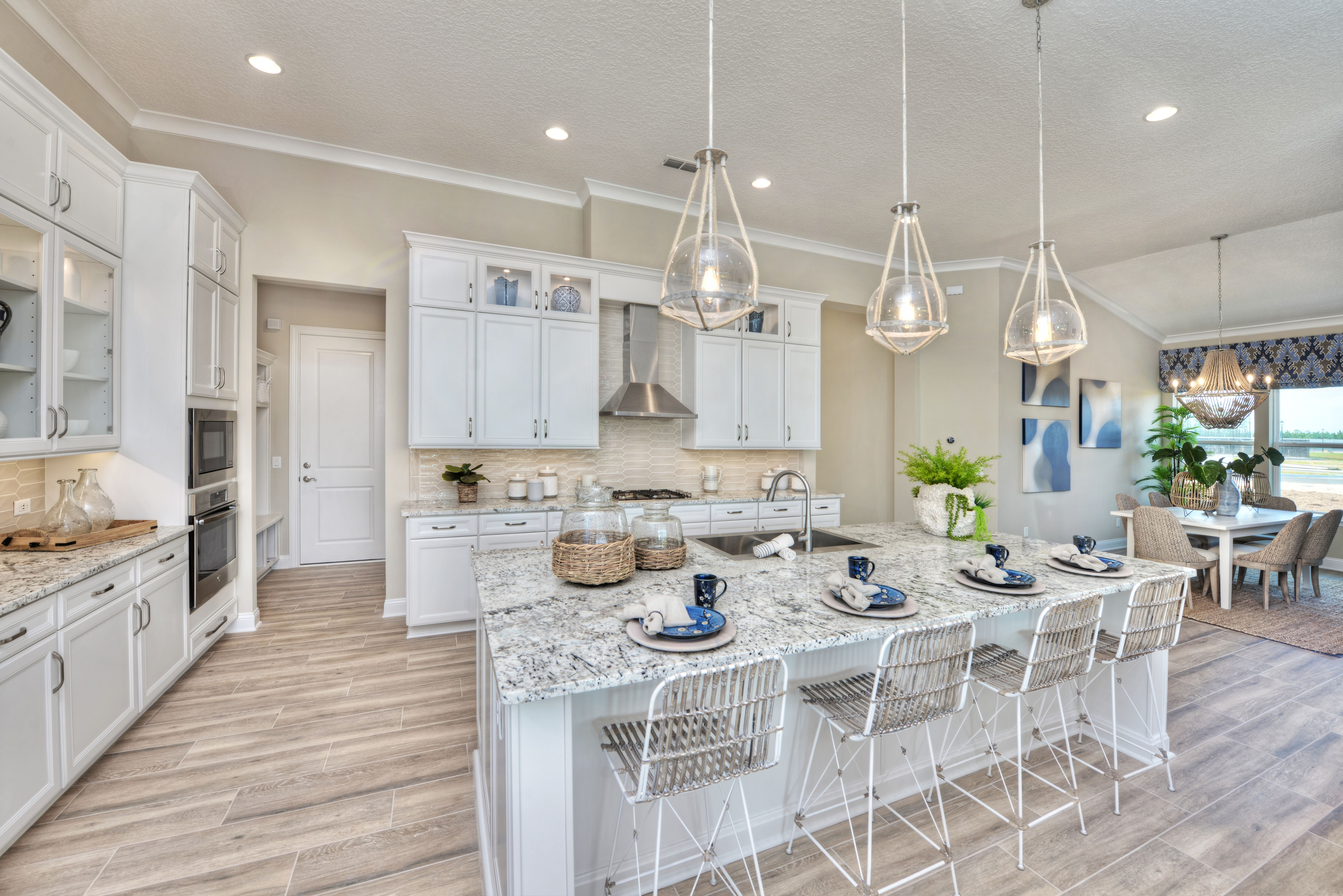 Its Kitchen Goals Inside The Costa Mesa Model At Etown Custom Home Builders Custom Homes Home Builders