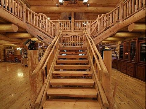 Luxury Staircases Step Up Home Style Rustic Staircase