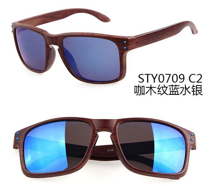 c8c3fe6c460 2016 NEW Oak Holbrook Sunglasses For Men Women Imitated Wood Sports Outdoor  Designer