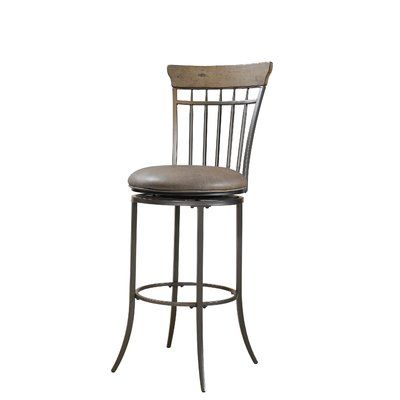 Alcott Hill Rocio Bar Amp Counter Swivel Stool Swivel