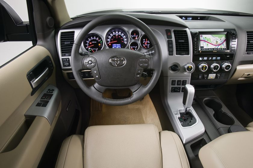 Perfect 2012 Toyota Sequoia SUV Cockpit | Toyota Sequoia | Pinterest | Toyota And  Tundra Truck