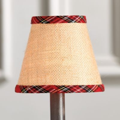 Our design partner suzanne kasler created this festive red plaid our design partner suzanne kasler created this festive red plaid chandelier shade so you can give your chandelier a quick cozy update just in time to aloadofball Image collections