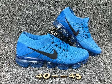 b606c687d3 Official Nike Air Vapormax Flyknit Mens SkyBlue Black Shoes | Shoes ...