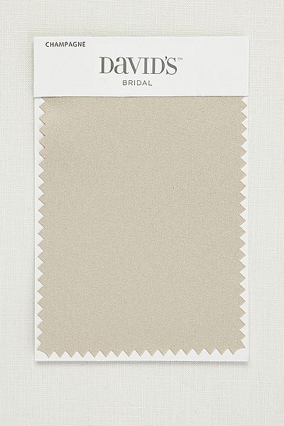 3d8af0bc3d3 Champagne Satin Fabric Swatch SMLSWATCHCHAM Champagne