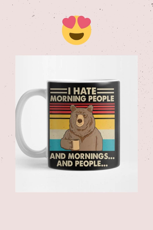 #bear #funnymug #bearmug #funnybear #morningquotes #morninghumor