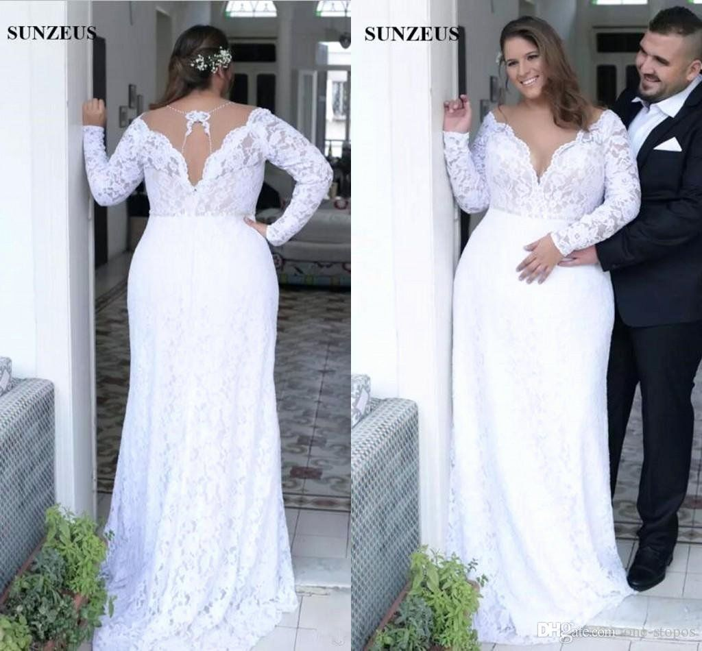 Dress Designers Near Me Best Of Modest Plus Size Sheath Wedding Dresses Full Lac In 2020 Long Sleeve Bridal Gown Wedding Dress Alterations Wedding Dresses Plus Size