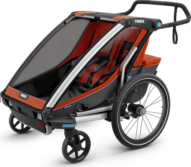 Thule Chariot Cross 2 Child Bike Seat Bike Jogging Stroller