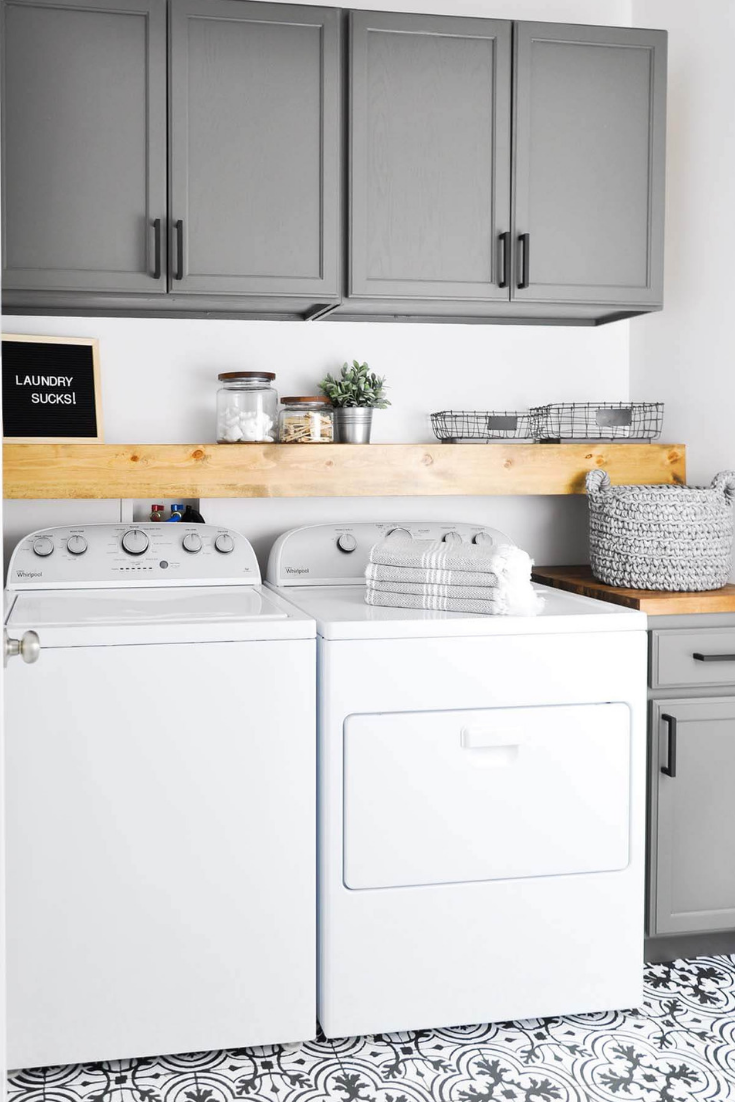 45+ Best Laundry Room Cabinets: Pictures, Ideas & Designs - Trumtin #laundryrooms