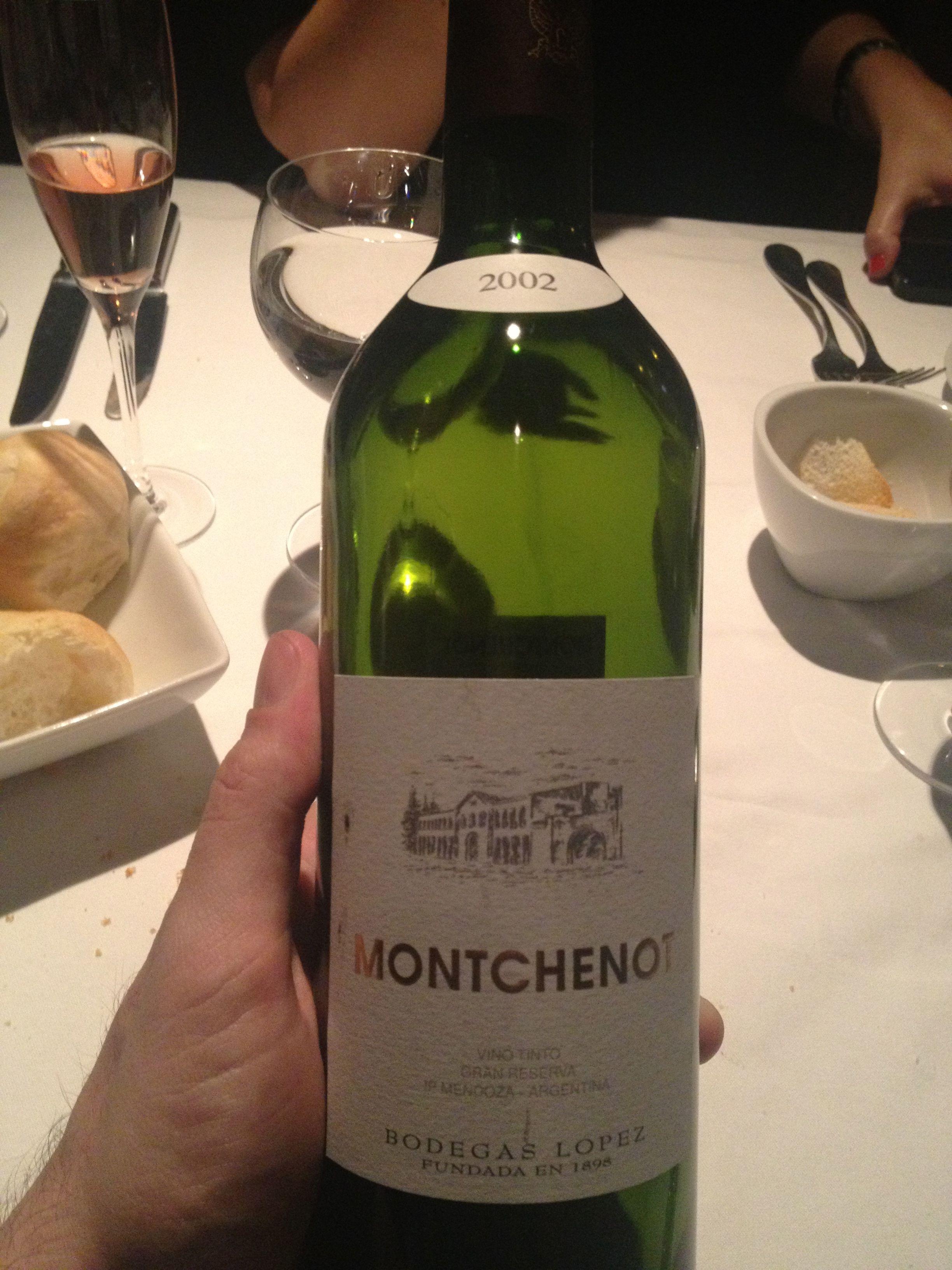 Montchenot - Blend - 2002 - Lopez - Mendoza, Argentina