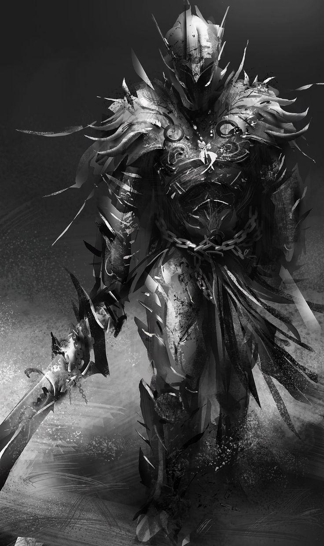 Dread Knight Fantasy artwork, Character art