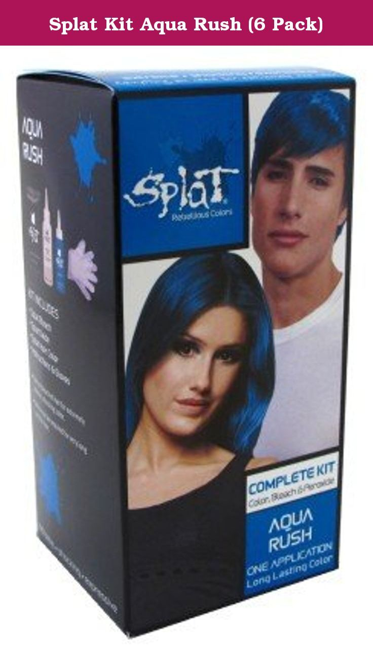 Splat Kit Aqua Rush 6 Pack For Extremely Intense Shocking