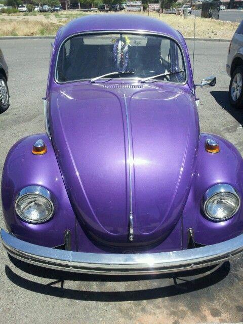 Violet volkswagen Purple Beetle Bug!!!!!!