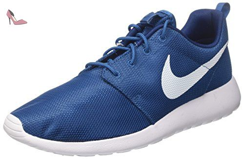 Nike Roshe One, Chaussures de Course Homme, Bleu (Industrial Blue/White/
