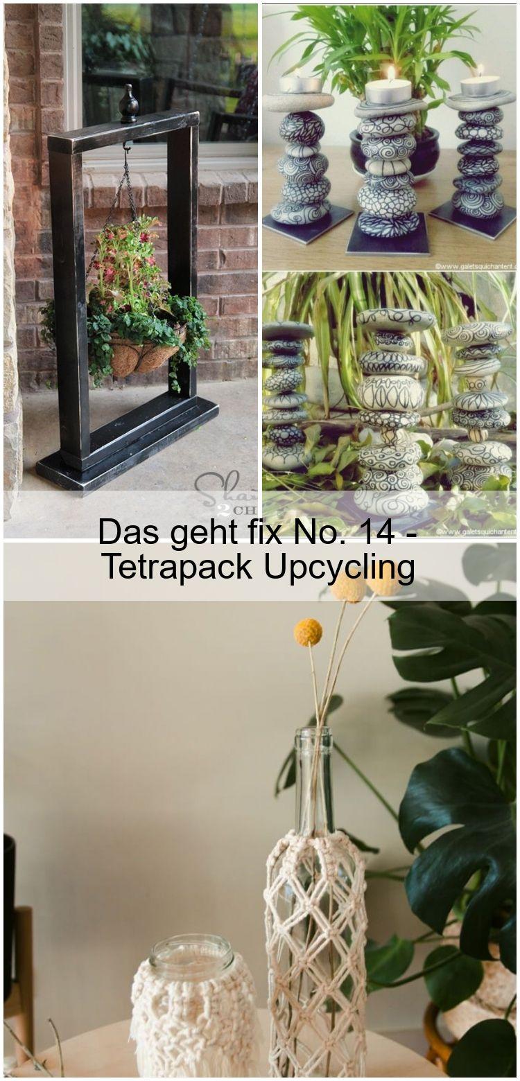 Das geht fix No 14  Tetrapack Upcycling