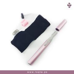 ماكينة إزالة شعر الوجه بالخيط مع قلم الحواجب الكترونيات Baidi Loqta Ps 5 Beauty Kit Hair Removal Beauty