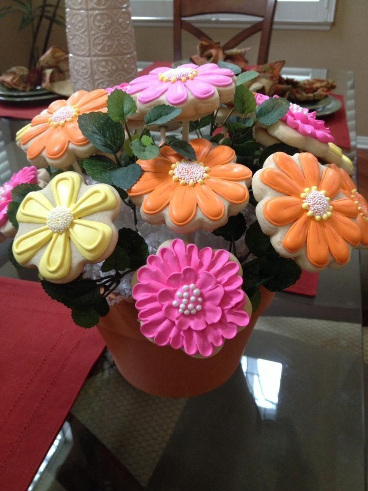 cookie bouquet photos | Cookie bouquet for nurses appreciation day ...