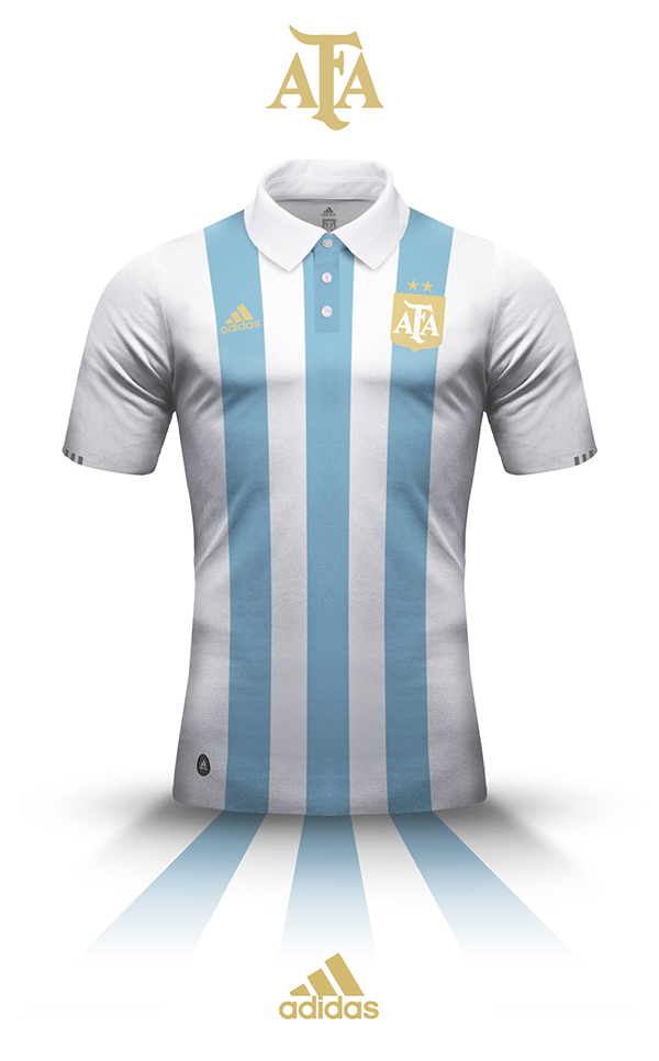 Argentina s kit - Adidas on Behance  5afee060853d1