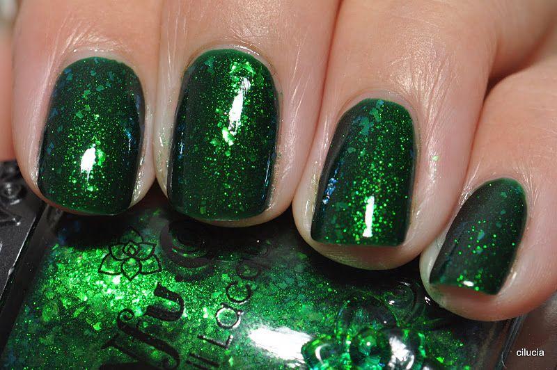 Color Esmeralda - Emerald Green!!! Nails | Wedding! | Pinterest ...