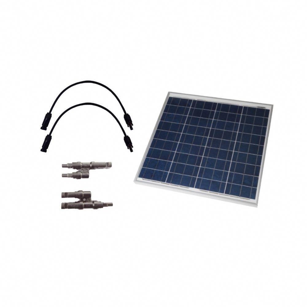 Grape Solar 50 Watt Off Grid Solar Panel Expansion Kit Gs 50 Exp The Home Depot In 2020 Best Solar Panels Off Grid Solar Panels Solar Power Kits
