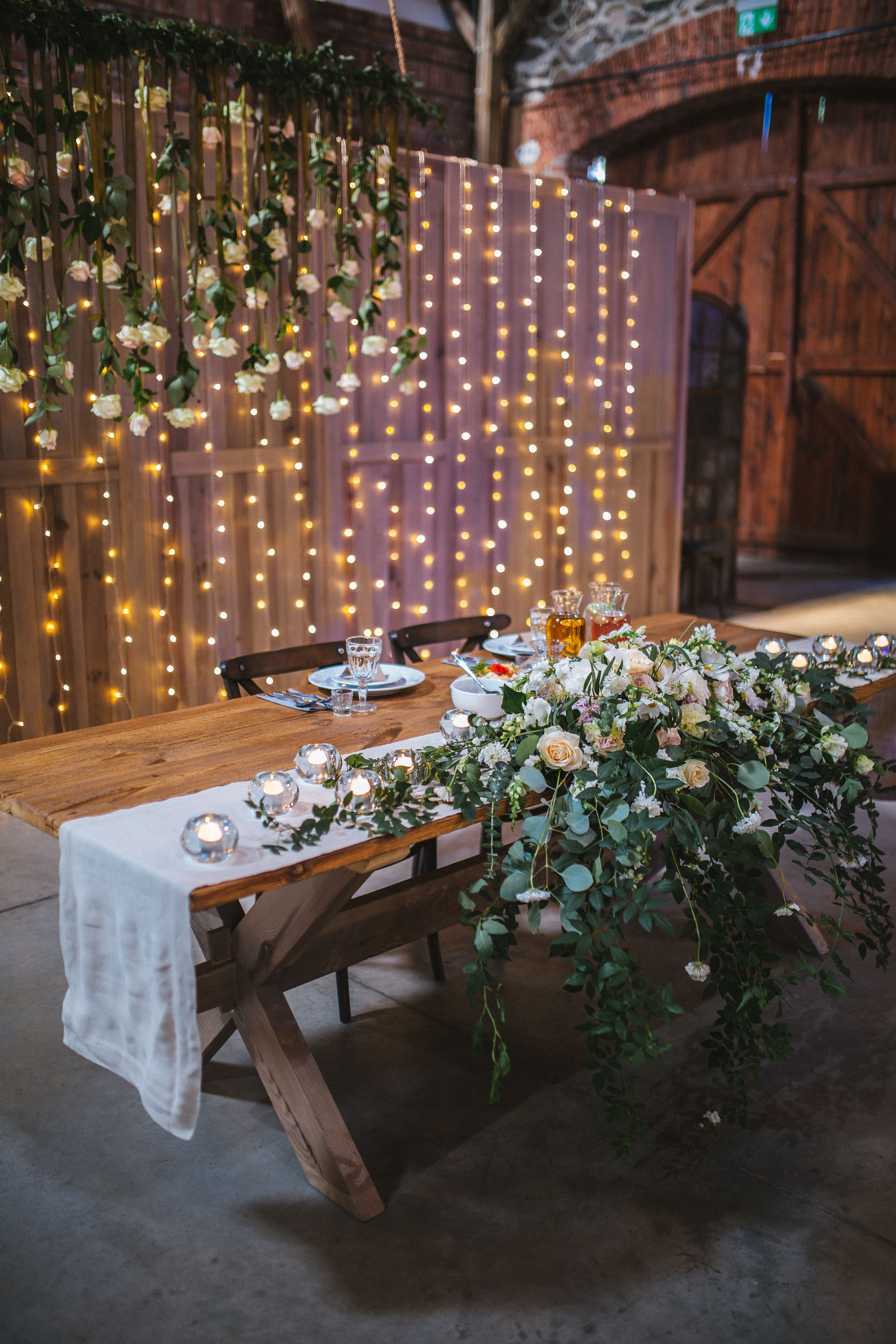 Inna Studio Pastel Wedding Composition With Eucalyptus Bride And Groom Table D Bride Groom Table Decoration Bride Groom Table Backdrop Brides Table Decorations