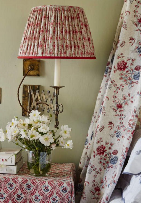 Design Details Fabric Lampshades Country Cottage Decor Linens And More Fabric Lampshade