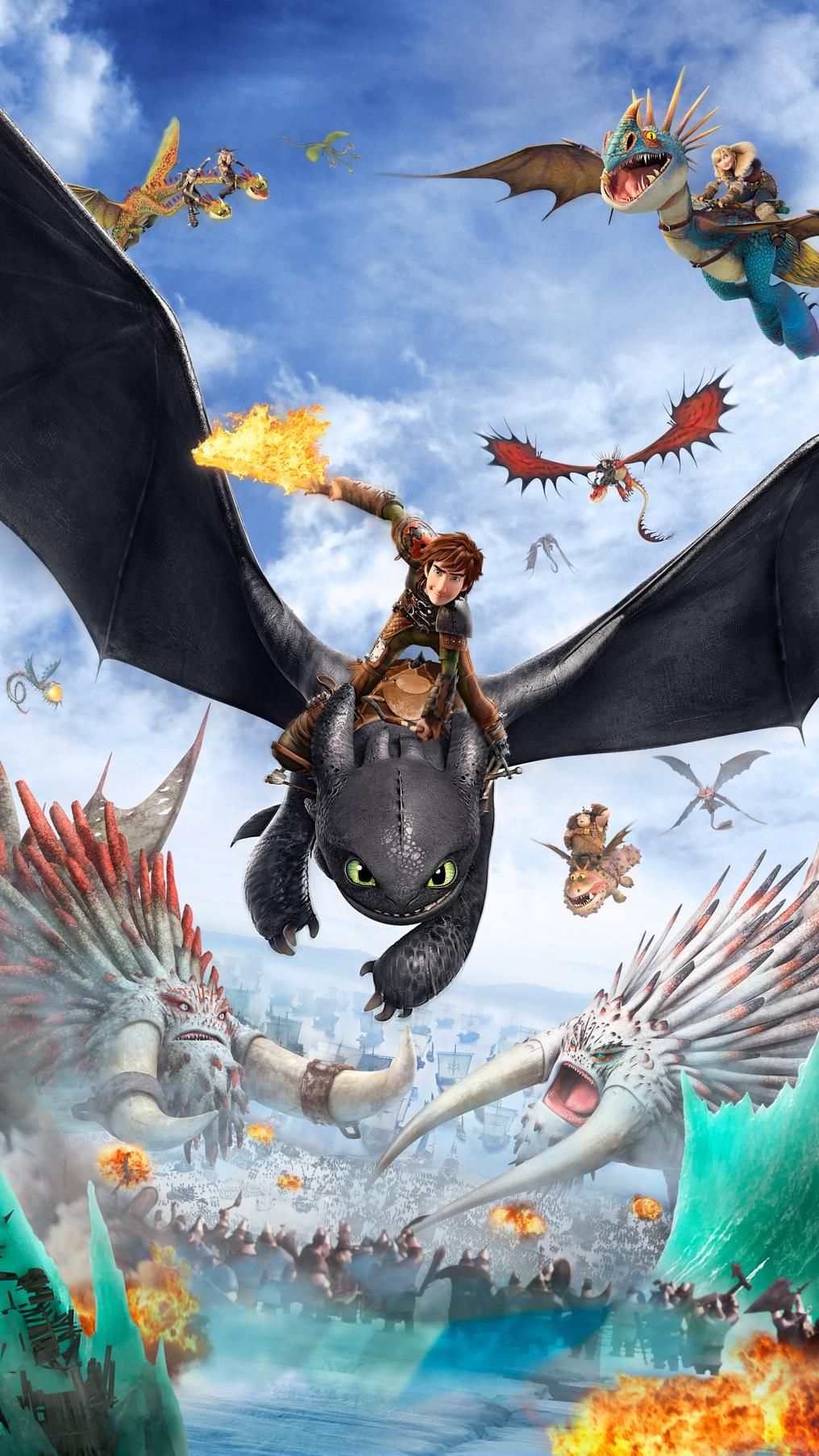 How To Train Your Dragon 2 2014 Phone Wallpaper Ekkor 2020