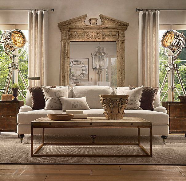 Royal Master Sealight Floor Lamp From Restoration Hardware