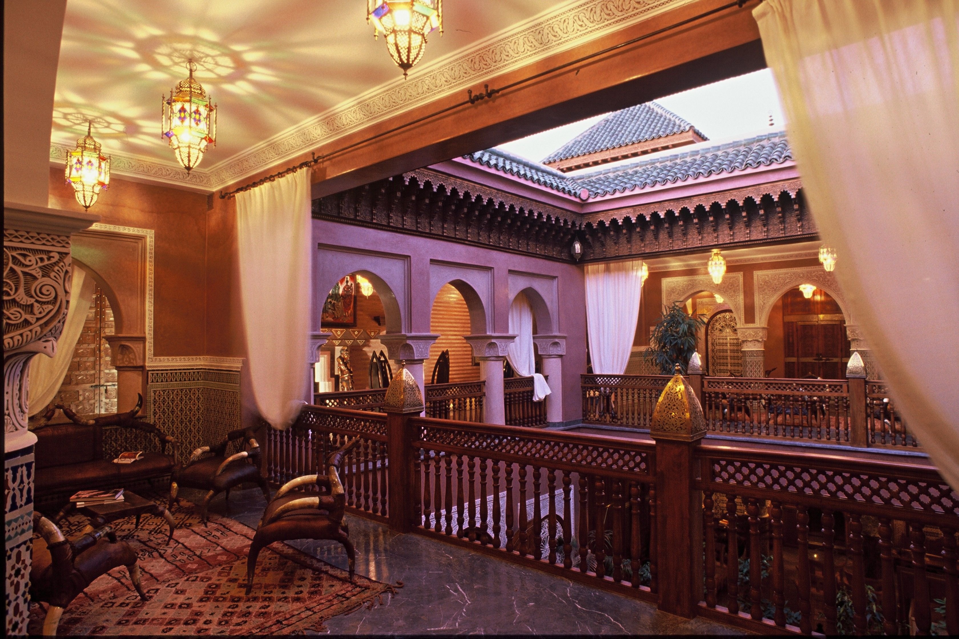 the hotel la sultana has a wonderful mix of traditional