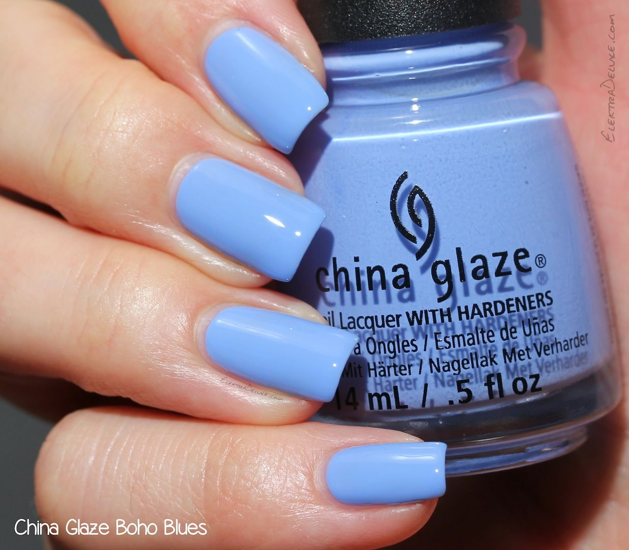 China Glaze Boho Blues, Road Trip Collection Spring 2015
