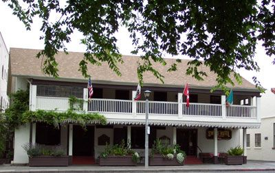 The Swiss Hotel On Sonoma Plaza Was Filming Location For Bottle Shock Scene Where