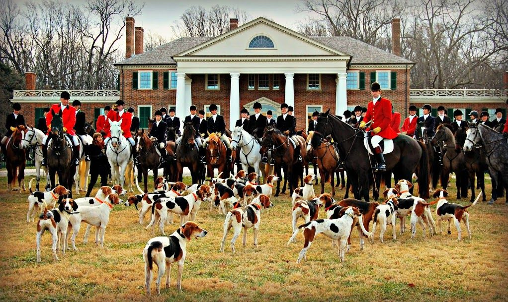 Keswick Hunt At James Madison S Montpelier In Orange Virginia