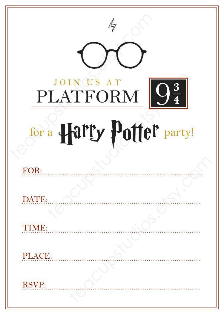 Harry Potter Einladung Nach Hogwarts Text 2